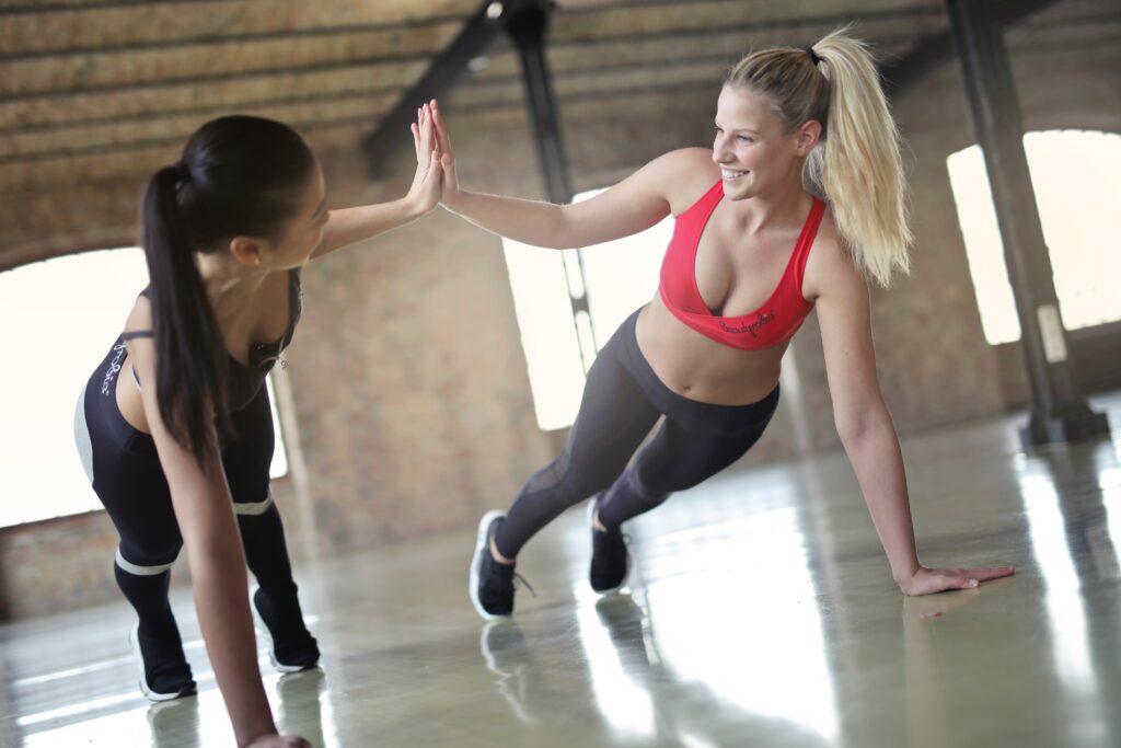 Fitnesstrainerin mit B-Lizenz
